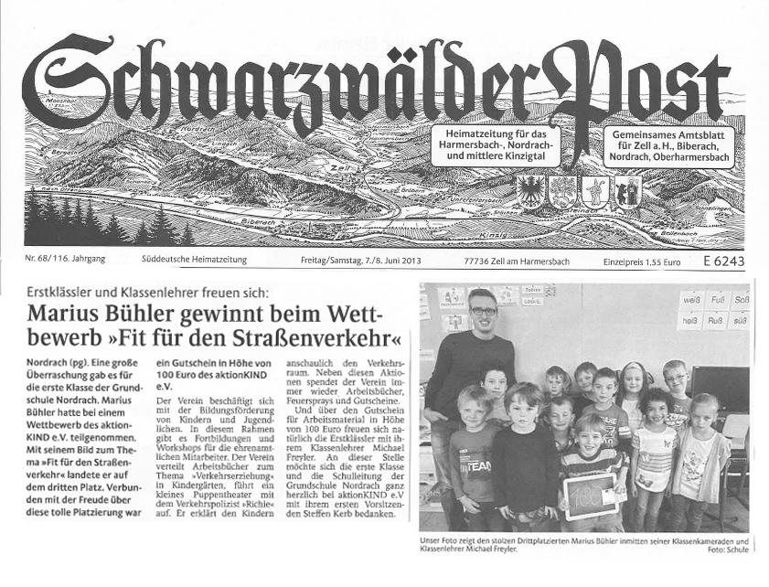 13-06-08-Schwarzwaelder-Post---Wettbewerb-3.Platz